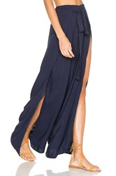 Indah Eclipse Wrap Pants Navy