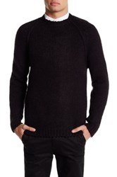 Eleven Paris Erion Crew Neck Sweater Black
