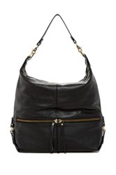 Sondra Roberts Washed Nappa Hobo Black
