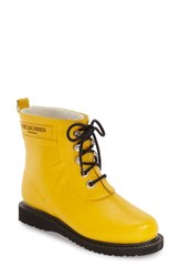 Women's Ilse Jacobsen Hornb K 'Rub' Boot Cyber Yellow
