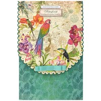 Heathcote And Ivory Rainforest Scented Drawer Liners X 6