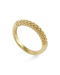 Lagos 18K Gold Beaded Ring