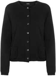 Aspesi Wool Cardigan Black