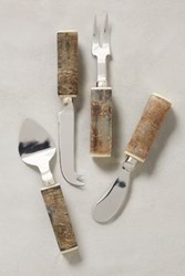Anthropologie Highlands Cheese Knives Neutral