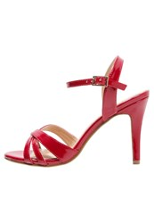 Buffalo Sandals Red