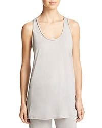 Yummie Tummie By Heather Thomson Slim Racer Tank Opal Gray