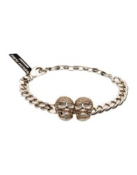 Philipp Plein Jewellery Bracelets Women Platinum