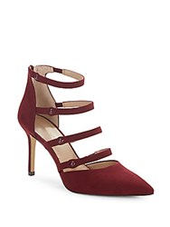 Saks Fifth Avenue Baines Strappy Pumps Red