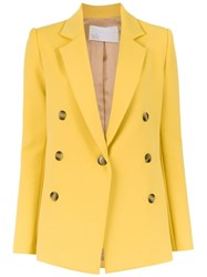 Spacenk Nk Double Breasted Blazer Yellow