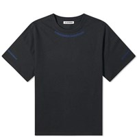 Jil Sander Oversized Seam Detail Tee Black