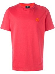 Paul Smith Ps By Round Neck T Shirt Pink And Purple