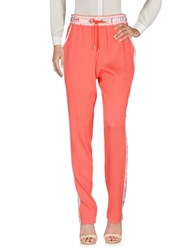 Leonard Paris Casual Pants Coral