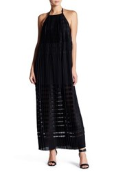Endless Rose Pleated Trapeze Maxi Dress Black