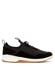Paul Smith Mookie Suede Trainers Black