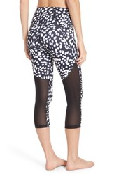 Women's Zella 'Sultry' High Waist Mesh Crop Leggings