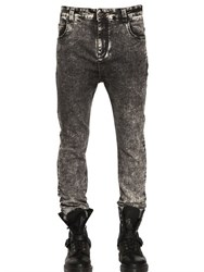 Numero 00 17Cm Skinny Acid Washed Denim Jeans