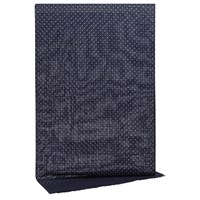 Reiss Wool Cashmere Dot Scarf Navy