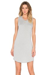 Feel The Piece Jules Tank Dress Gray