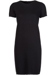 Rick Owens T Shirt Dress Black
