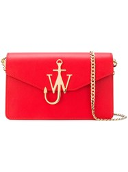 J.W.Anderson Jw Anderson Logo Purse Red