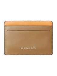 Paul Smith Contrast Card Holder Tan