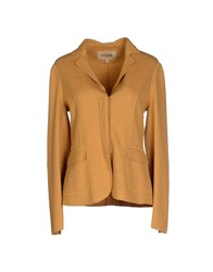 Alviero Martini 1A Classe Suits And Jackets Blazers Women Ocher
