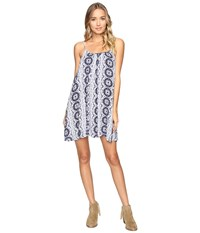Roxy Windy Fly Away Print Dress Cover Up Kiki Daze Cream Women's Swimwear Gray