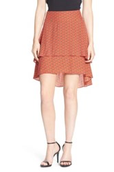 1.State Tiered Hi Lo Skirt