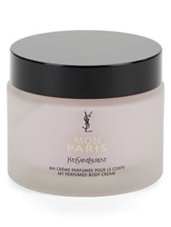 Yves Saint Laurent My Perfumed Body Cream 6.7 Oz No Color
