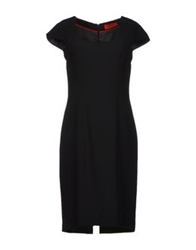 Nine Knee Length Dresses Black