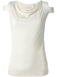 Adidas Slvr Fitted T Shirt Nude And Neutrals