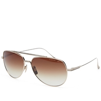 Dita Flight.004 Sunglasses 12K Gold And Dark Brown