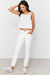 Neuw Sister Ray Jean Nuit Blanche White