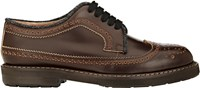 Marni Leather Wingtip Derbys Brown