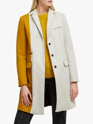 French Connection Carmelita Smart Coat Multi