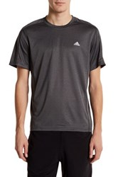 Adidas Topstitch Detail Tee Black