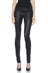 Helmut Lang Leather Legging In Black