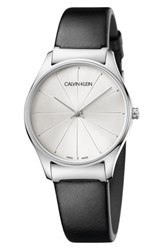Calvin Klein Classic Leather Strap Watch 32Mm