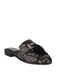 Kenneth Cole Reaction Rain Down Textile Mules Black Multi