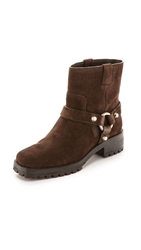 Michael Kors Collection Macey Flat Short Boots Chocolate