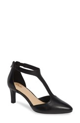 Clarks Calla Lily Pump Black Leather