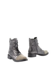 Apepazza Ankle Boots Steel Grey