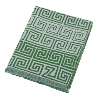 Zoeppritz Since 1828 Leg Cotton Throw 145X190cm Jade