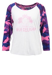 True Religion Palm Long Sleeved Top Pink
