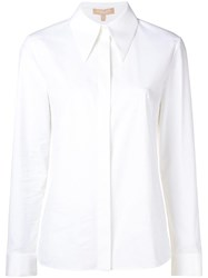 Michael Kors Collection Classic Longsleeved Shirt White