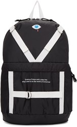 Undercover Black Patch Backpack