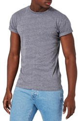Topman Men's Muscle Roller T Shirt Lilac