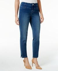 Styleandco. Style Co. Split Hem Bliss Wash Skinny Jeans Only At Macy's