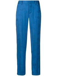 Zadig And Voltaire Pomelo Jac Paisley Trousers Blue
