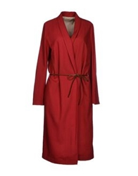 Momoni Momoni Full Length Jackets Red